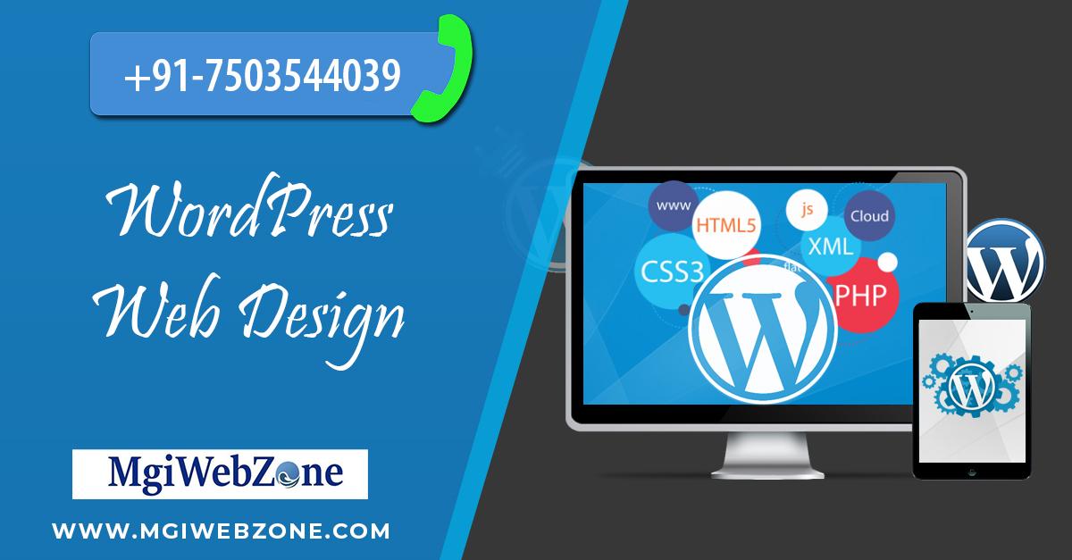 Wordpress Web Design Company Delhi India