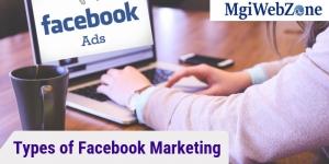 Types of Facebook Marketing