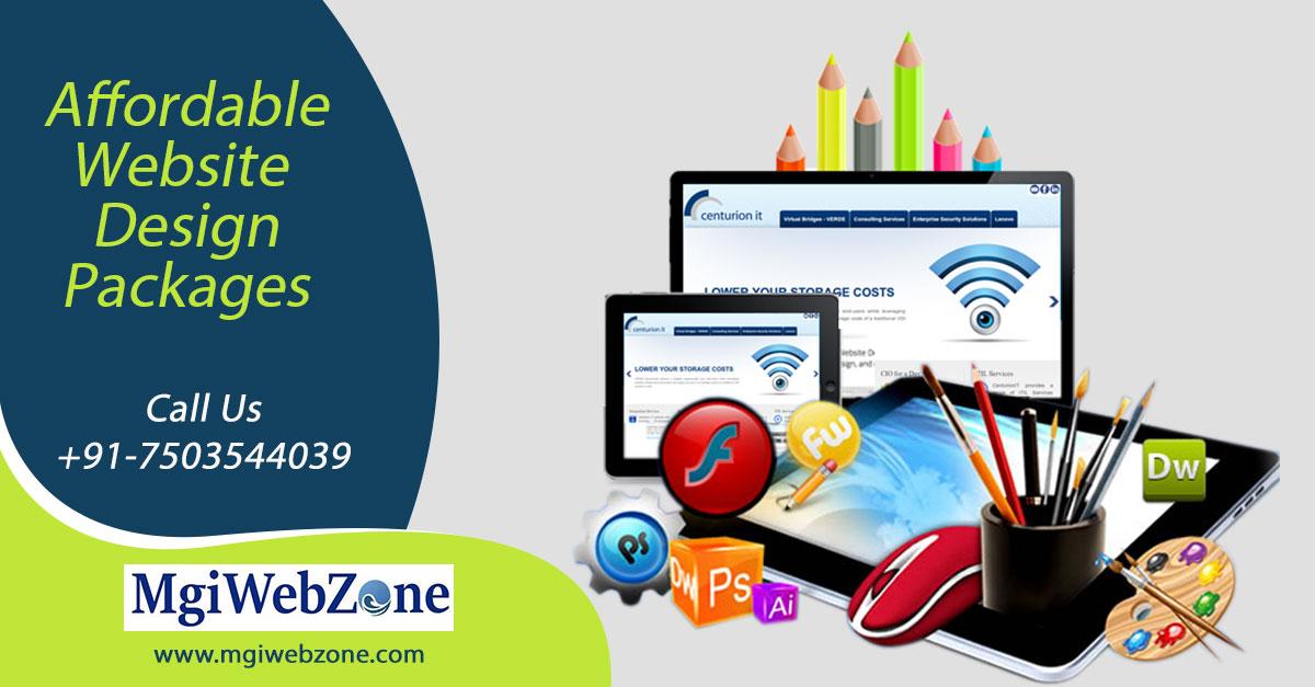 Affordable Website Design Packages Delhi India