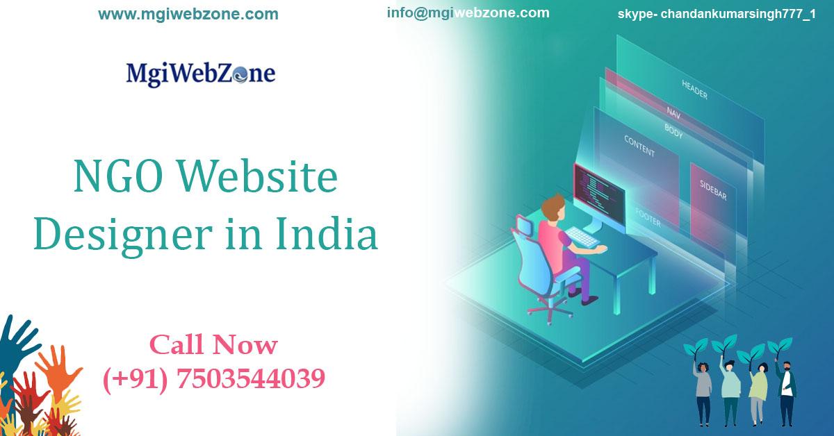 ngo website designer in india