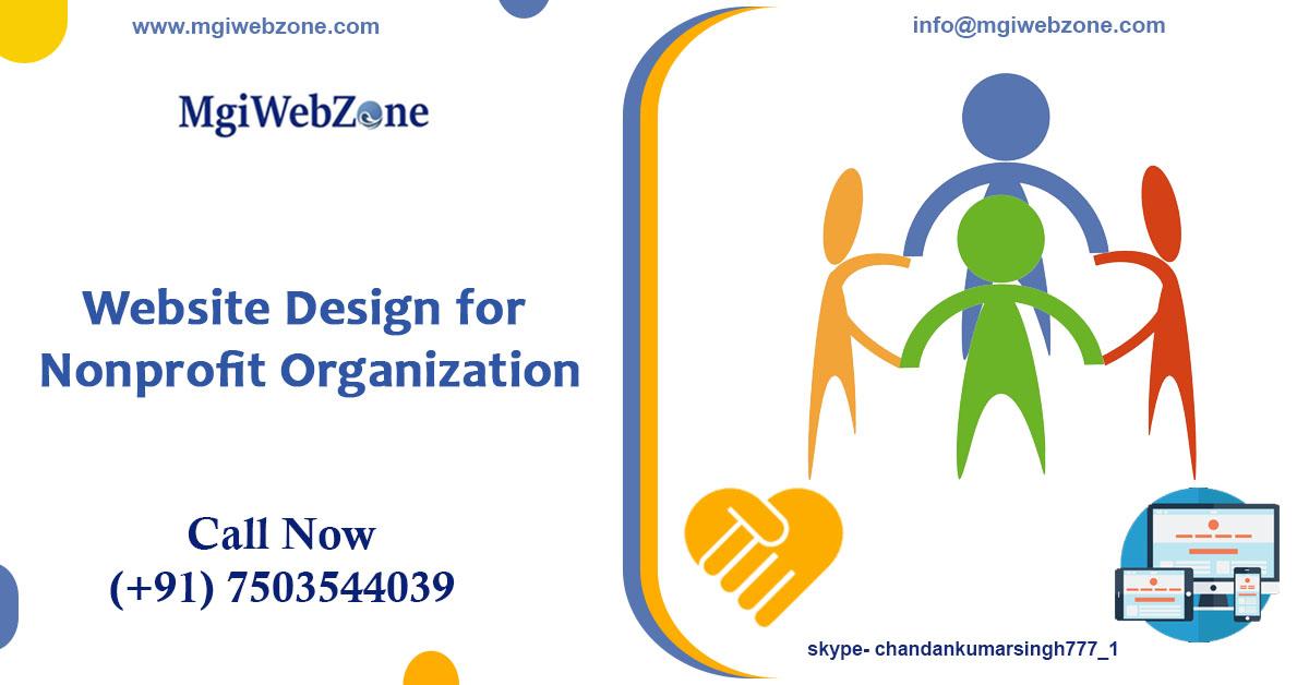 website design for nonprofit organization