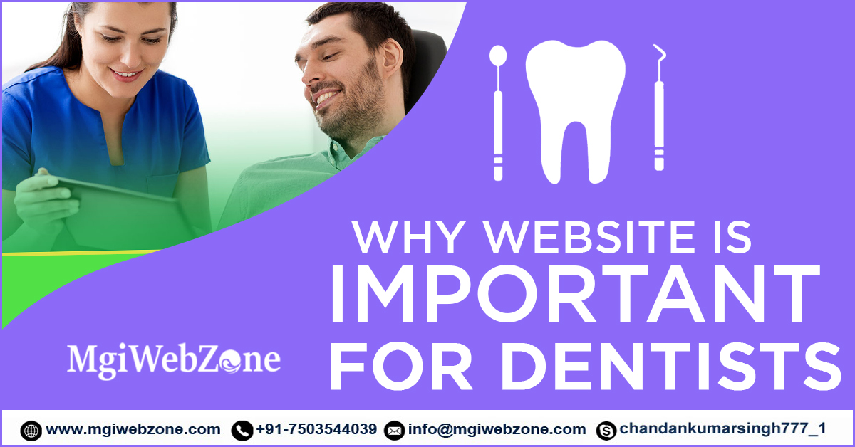why website is important for dentists
