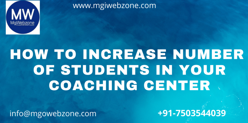 How to Increase No of Students in Coaching